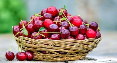 Hautpflege bei Strahlentherapie, Kirschen: Gesund und lecker, desiderm® Germany